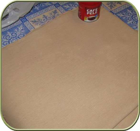 Как покрасить ткань для тильды в кофе